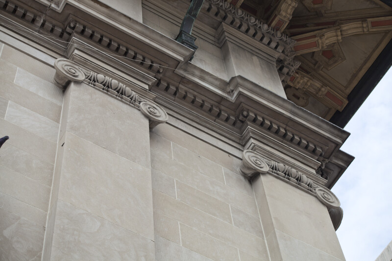 Ionic Pilasters on an Historic Building