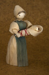 Iowa Woman and Baby Made with Corn Husks (Full View)