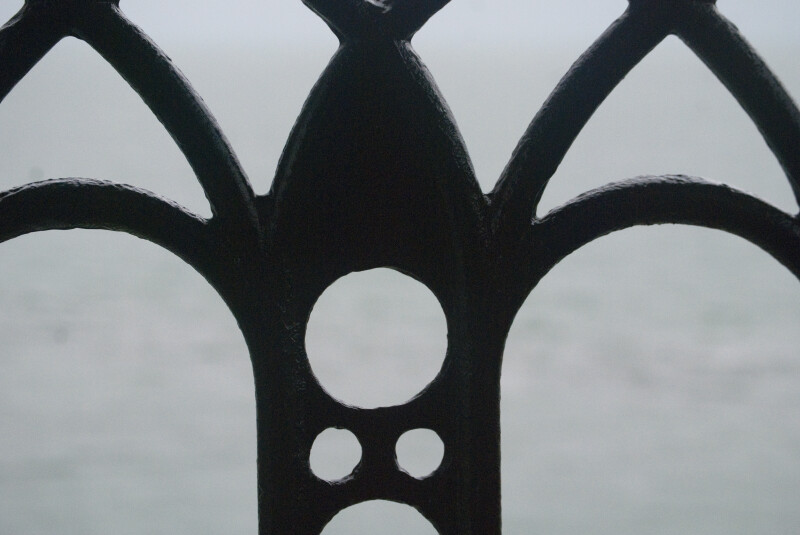 Iron Railing Close-Up