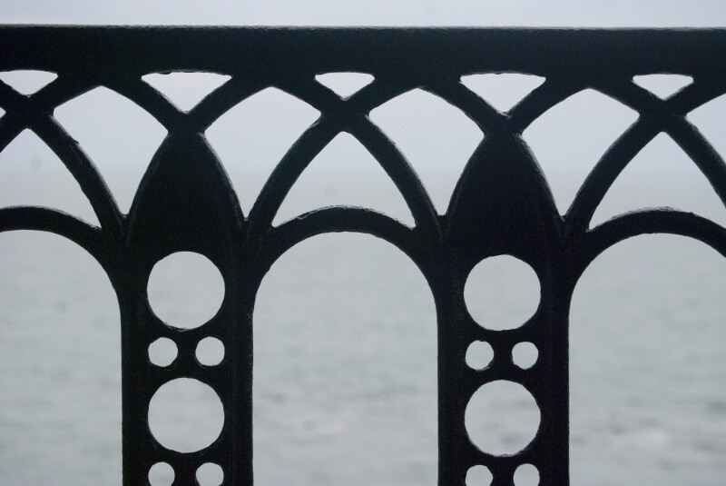 Iron Railing Detail
