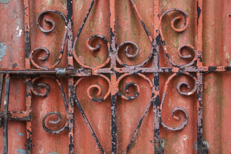Ironwork Door Guard