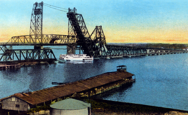 Jacksonville and the Florida East Coast Railway Railroad Bridges