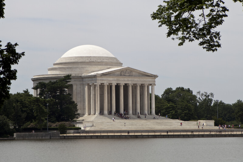 Jefferson Memorial and Potomac Tidal Basin