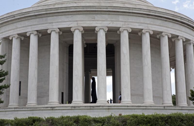 Jefferson Memorial and Statue