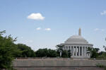 Jefferson Memorial from Park