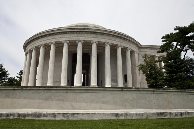 Jefferson Memorial Side