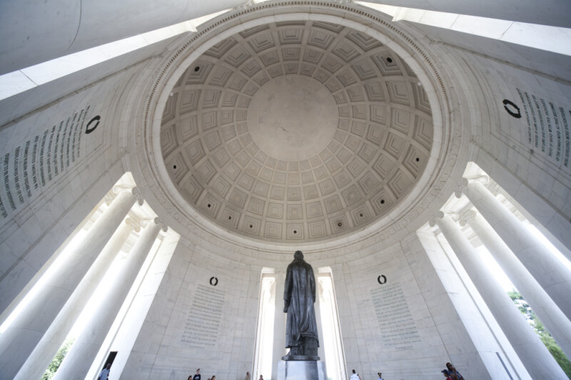 Jefferson Statue and Dome