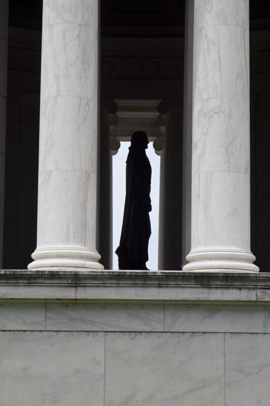 Jefferson Statue Profile