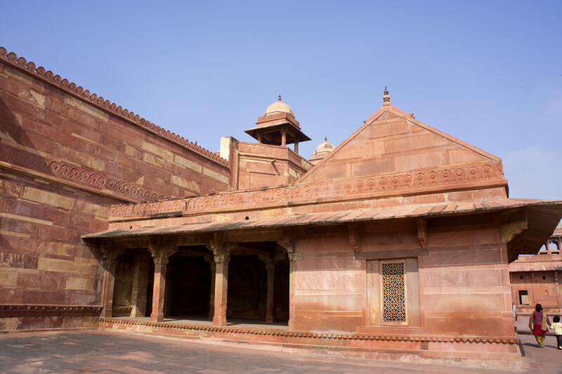 Jodha Bai's Palace Wall