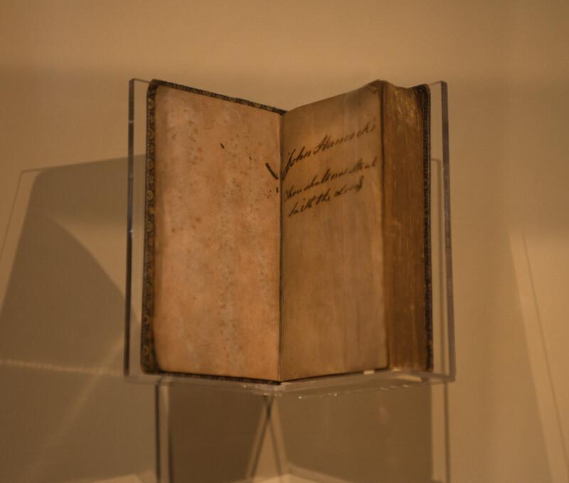 John Hancock Psalm Book