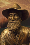 John Muir Cast in Bronze