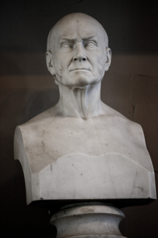 John Quincy Adams Bust