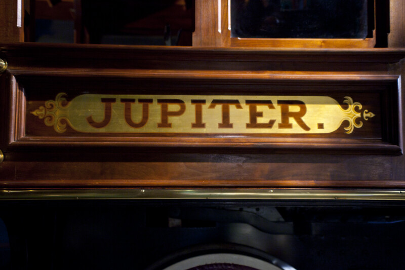"""Jupiter"" Nameplate"