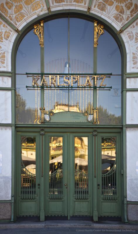 Karlsplatz Station Entrance