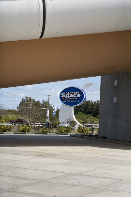 Kennedy Space Station Sign