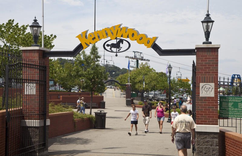 Kennywood Entrance