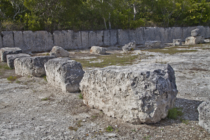 Keystone Blocks at Windley Key Fossil Reef Geological State Park