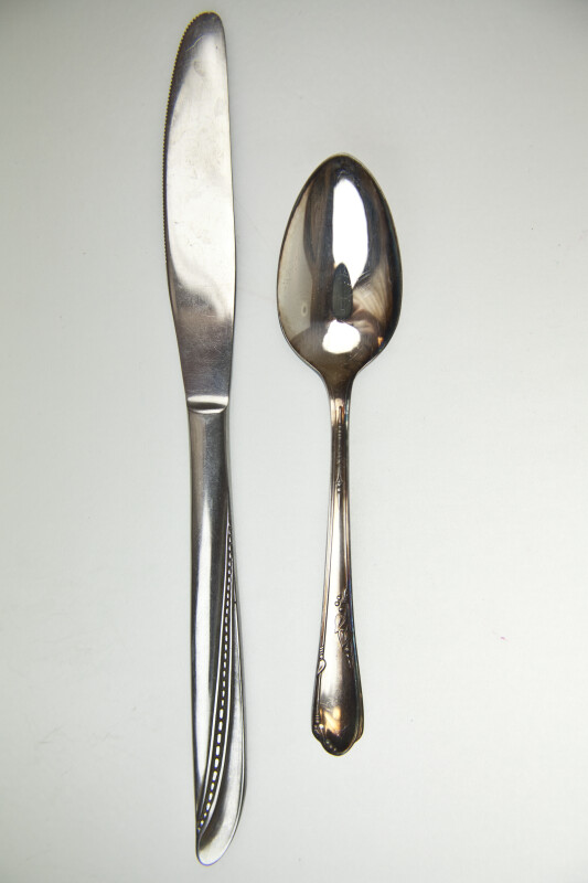 Knife and Spoon