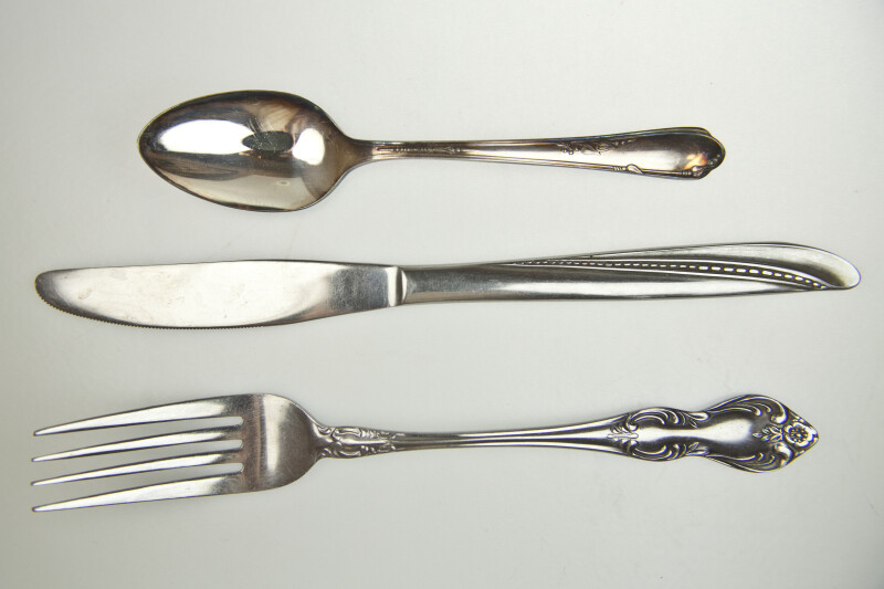Knife, Spoon, and Fork