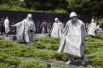 Korean War Memorial Statues