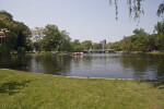 Lake at the Boston Public Garden