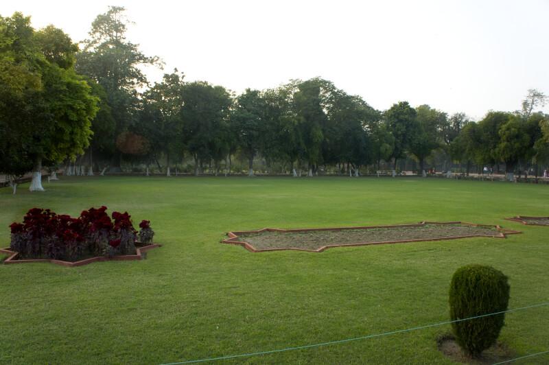 Landscape at the Taj Mahal