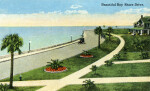 Landscaped Lawns on Bay Shore Drive