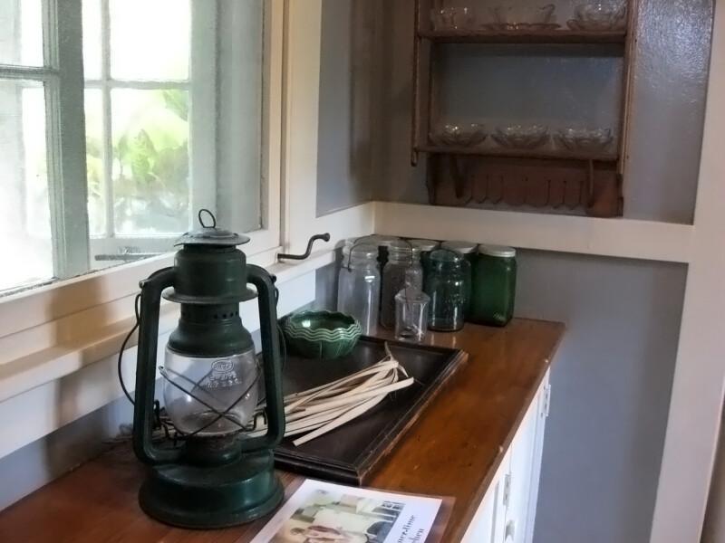 Lantern in Kitchen