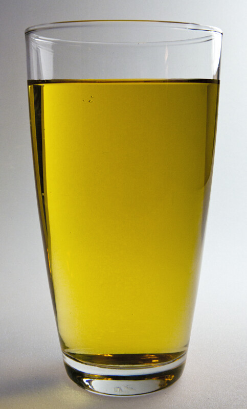 Large Glass of Apple Juice