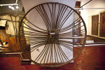 Large Wicker Wheel at the Museum of Turkish and Islamic Art in Istanbul