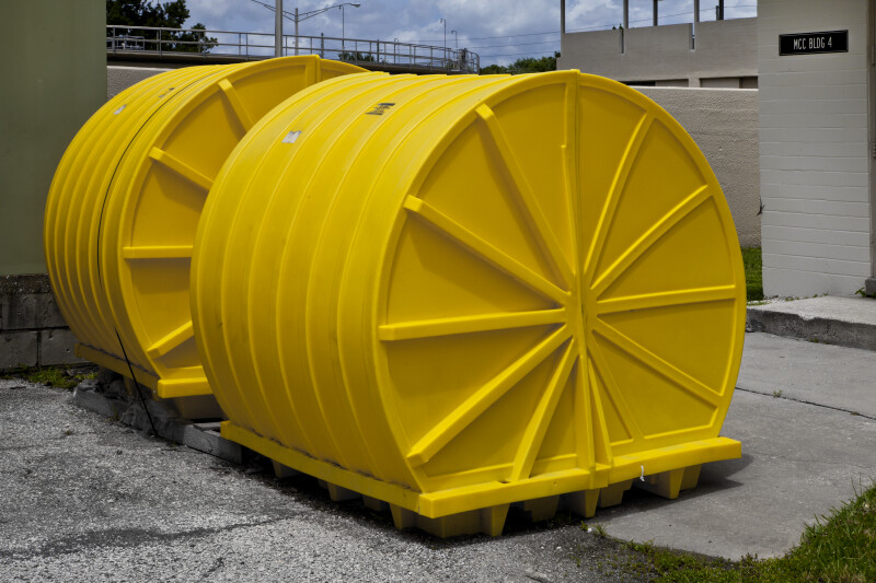Large Yellow Containers