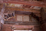 Lattice Work Above Door in Khwabgah