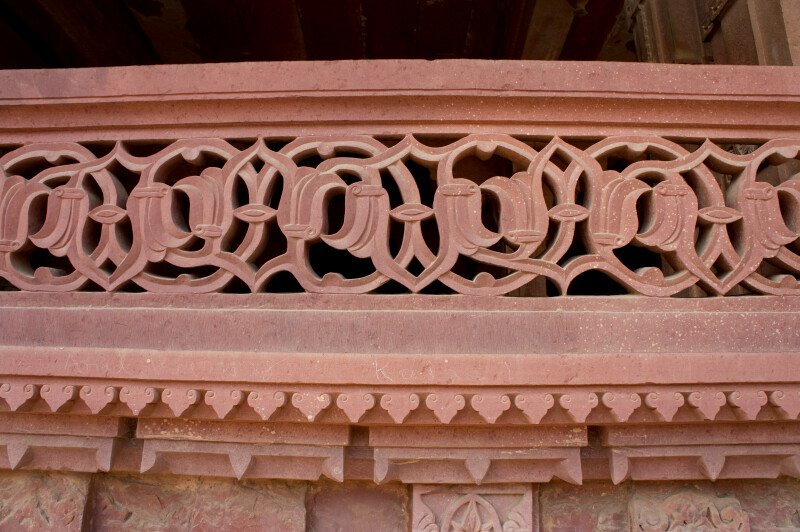 Latticed Balustrade