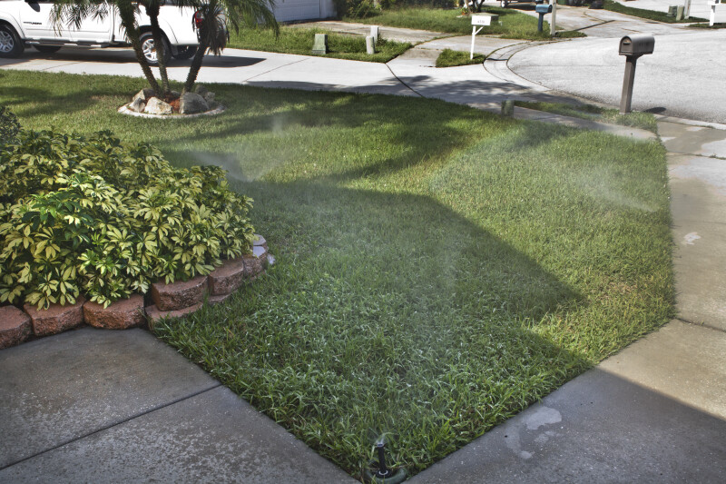 Lawn Watering with Reclaimed Water