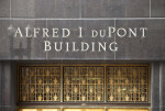 Letters on the Exterior of the DuPont Building
