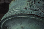Letters Written on an Oxidized, Bronze Cannon