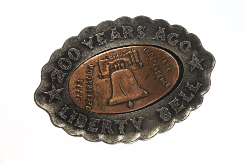 Liberty Bell Anniversary Belt Buckle