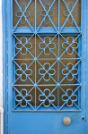 Light-Blue Door in Kusadasi, Turkey