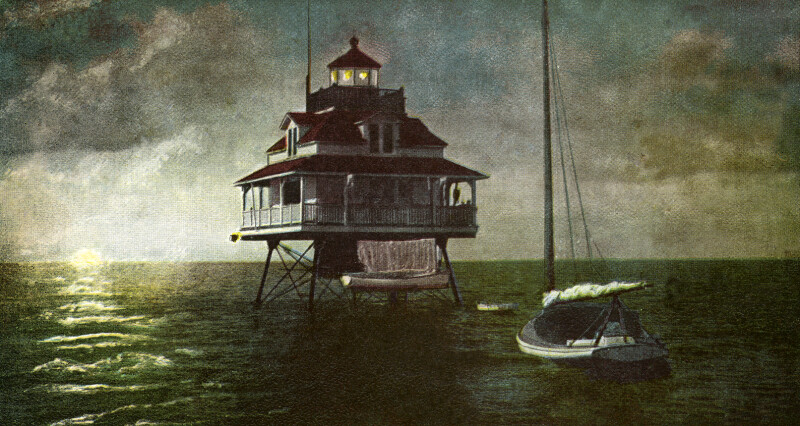 Lighthouse on the Florida Coast