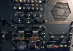 Lights and Switches on an Airplane's Control Panel