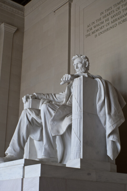 Lincoln and Inscription