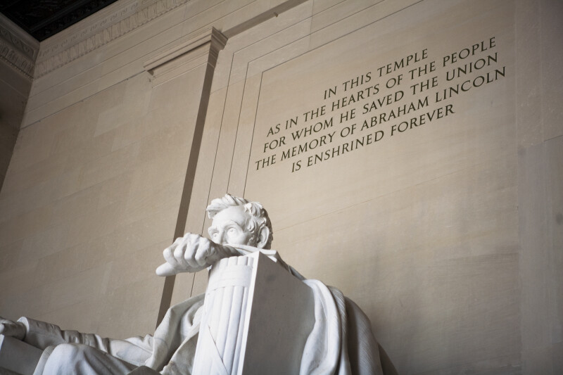 Lincoln Memorial Inscription