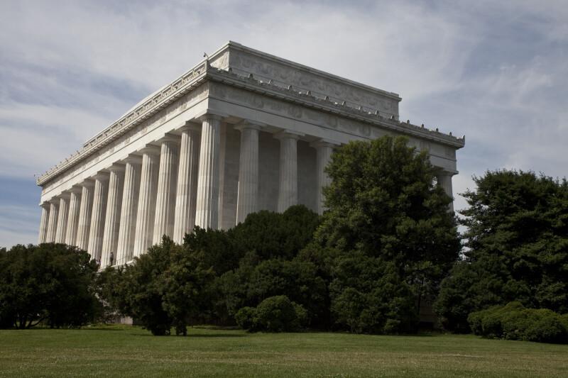 Lincoln Memorial Rear