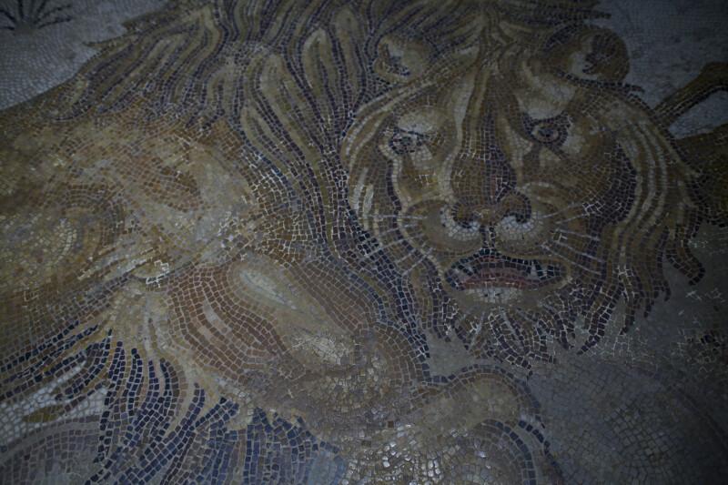 Lion Mosaic