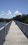 Long Boardwalk at Biscayne National Park