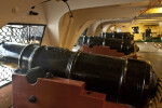 Long Guns on the Gun Deck