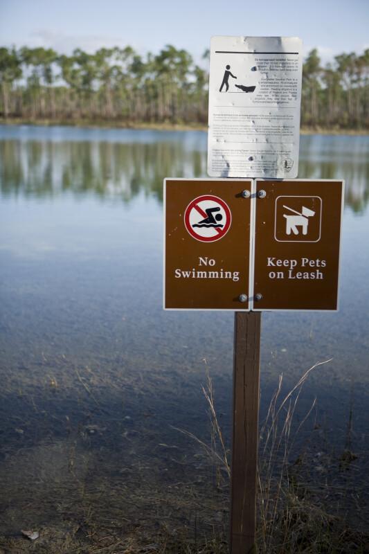 Long Pine Key Sign