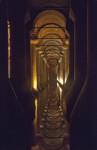 Long Row of Columns at the Basilica Cistern