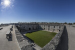 Looking Southwest Over Court of Castillo de San Marcos from Northeast Bastion