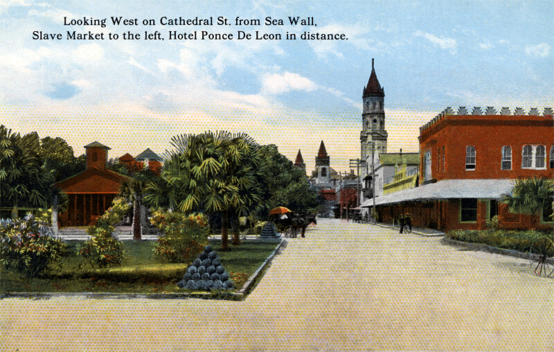 Looking West on Cathedral Street